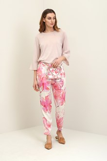 Ballantyne Regular hibiscus trousers
