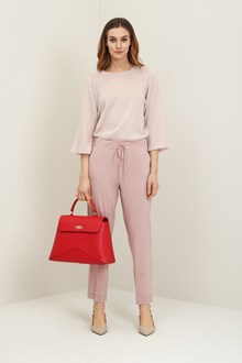 Ballantyne Regular silk trousers