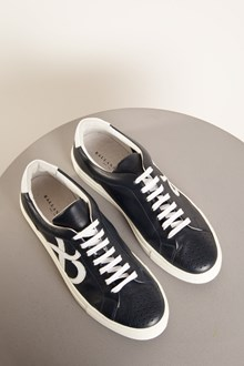 Ballantyne Sneakers in pelle color nero navy