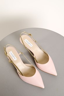 Ballantyne Pumps in bicolor leather