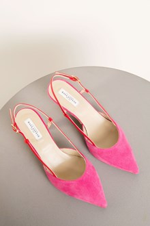 Ballantyne Pumps in bicolor suede