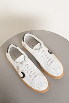 Ballantyne White leather sneakers
