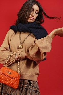 Ballantyne CASHMERE WOOL PULLOVER IN CAMEL COLOR