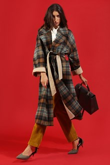 Ballantyne WOOL CHECK COAT
