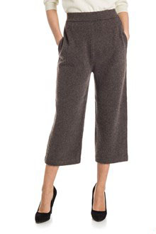 Ballantyne Pantalone in lana bouclé