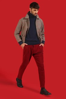 Ballantyne Venice Red color trousers with darts