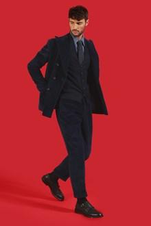 Ballantyne Straight trousers in Dark Ottanio blue