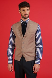 Ballantyne Classic shirt with white and blue stripes