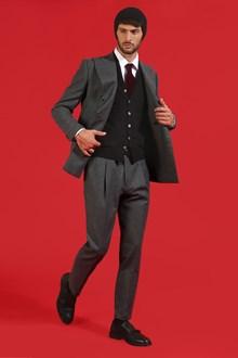 Ballantyne Gilet in lana merinos leggera nera