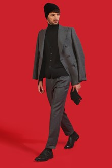 Ballantyne Cardigan in lana merinos leggera