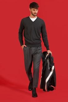 Ballantyne Pullover in cashmere color grigio scuro