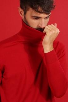 Ballantyne Dolcevita in lana merinos leggera rossa