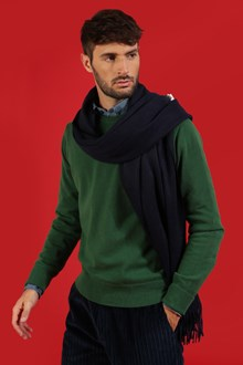 Ballantyne Prato Green color cashmere pullover