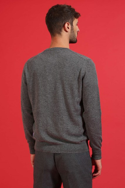 Ballantyne Pullover New Classic Diamond grigio