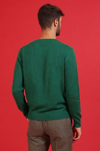 Ballantyne Pullover New Classic Diamond verde