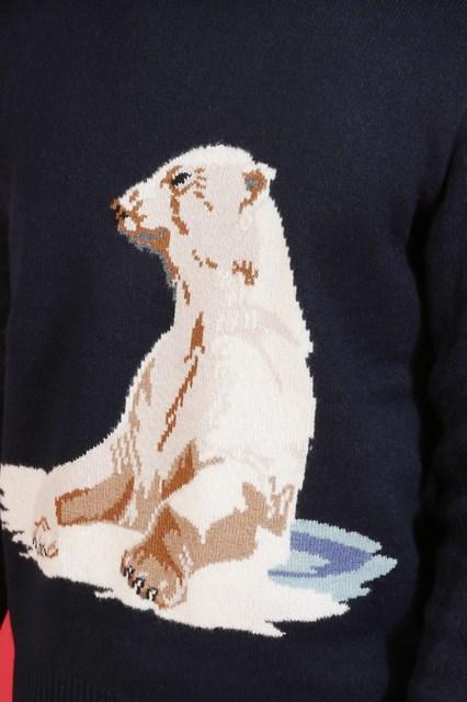 Ballantyne Pullover con intarsio figurativo