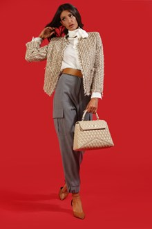 Ballantyne Beige lurex tweed jacket