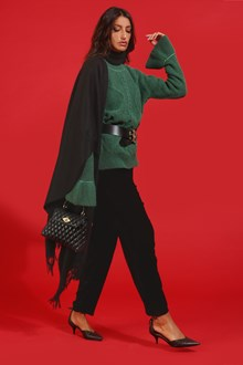 Ballantyne Alpaca and lurex pullover