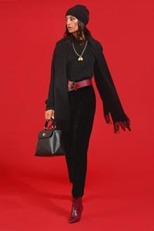 Ballantyne Monogram lurex crewneck pullover
