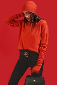 Ballantyne Dolcevita in cashmere arancione