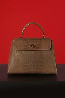 Ballantyne Diamond Small bag in brick color