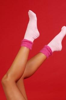 Ballantyne Pink and fuchsia socks