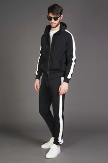 Ballantyne Jogging pants with color contrast sidebands