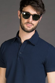 Ballantyne PIQUET POLO SHIRT IN MISTERO