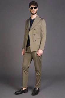 Ballantyne green mud double-breasted jacket
