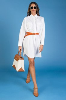 Ballantyne OVERSIZED POPLIN SHIRT DRESS