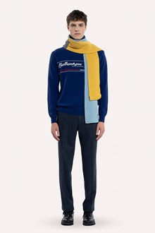 Ballantyne HERITAGE LABEL INTARSIA TURTLENECK