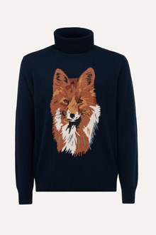 Ballantyne FOX INLAY TURTLENECK