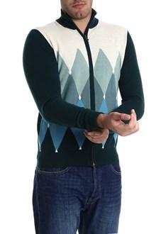 Ballantyne Cardigan in cashmere