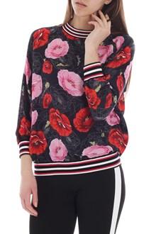 Ballantyne Black floral print blouse