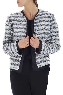Ballantyne Bouclè jacket in shades of light-blue