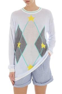 Ballantyne Maxi pullover with intarsia