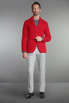 Ballantyne Shetland wool knitted tailored jacket