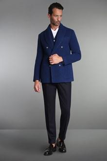 Ballantyne Blue double-breasted sartorial jacket