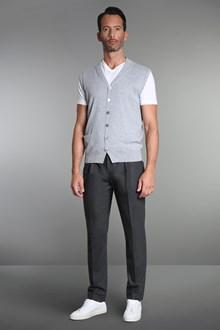 Ballantyne Brushed cashmere vest
