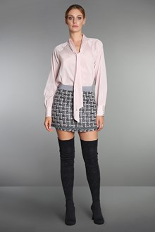 Ballantyne  Pink crêpe de chine shirt