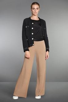 Ballantyne Black silk crêpe blouse