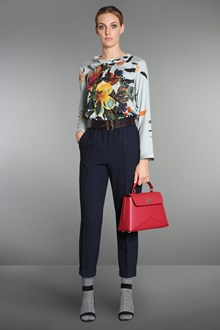 Ballantyne Silk blouse with watercolor floral print