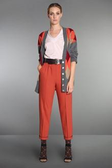 Ballantyne Crêpe wool cigarette trousers