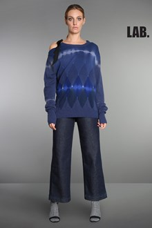 Ballantyne Lab Line Tie and Dye Brushed pullover