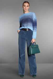 Ballantyne Degradé light blue mohair pullover