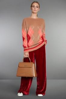Ballantyne Mohair pullover with argyle intarsia