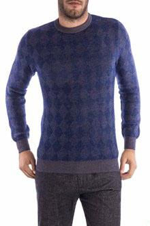 Ballantyne Maglia in lana e mohair