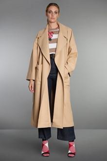 Ballantyne Overfit cashmere blend wool coat