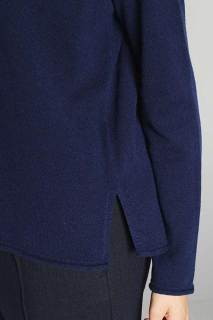 Ballantyne Pullover in cashmere con dettaglio diamond sul retro