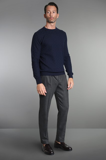 Ballantyne Herringbone pullover